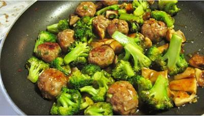 Resep Cah Brokoli Bakso