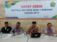 Kelompok Kerja Madrasah  Subang  Gelar Rapat Kerja