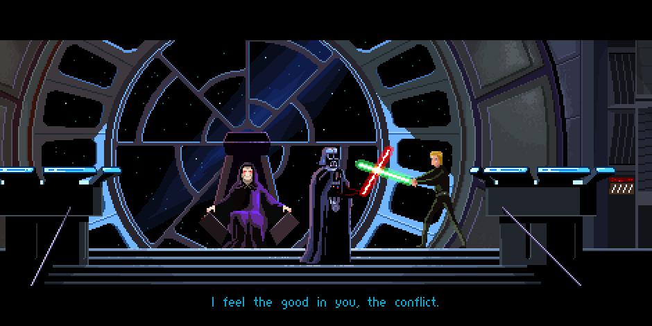 El retorno del Jedi - Pixel Art