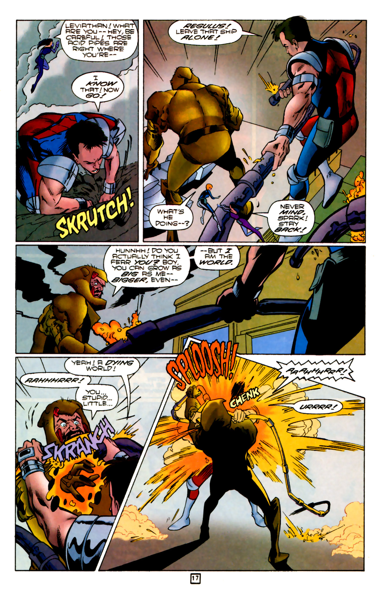 Legion of Super-Heroes (1989) 83 Page 16