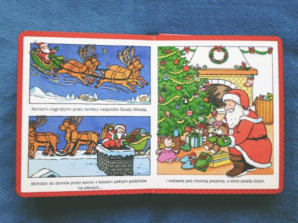 mikołaj i prezenty dla dzieci