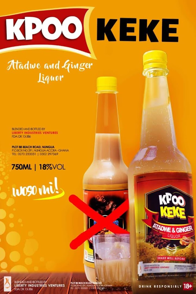 Liberty Industries refreshed its packaging design for its famous Kpoo K3k3 Drink