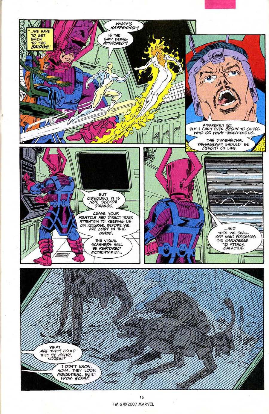 Read online Silver Surfer (1987) comic -  Issue #68 - 17