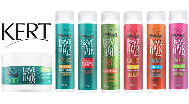 #Testei: Linha I Love My Hair Curly (Kert Cosméticos)