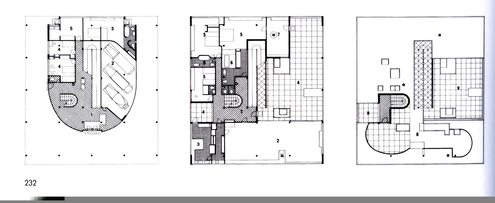 B2 Plan Villa Savoye Jpg 1600 215 659 Plans Pinterest