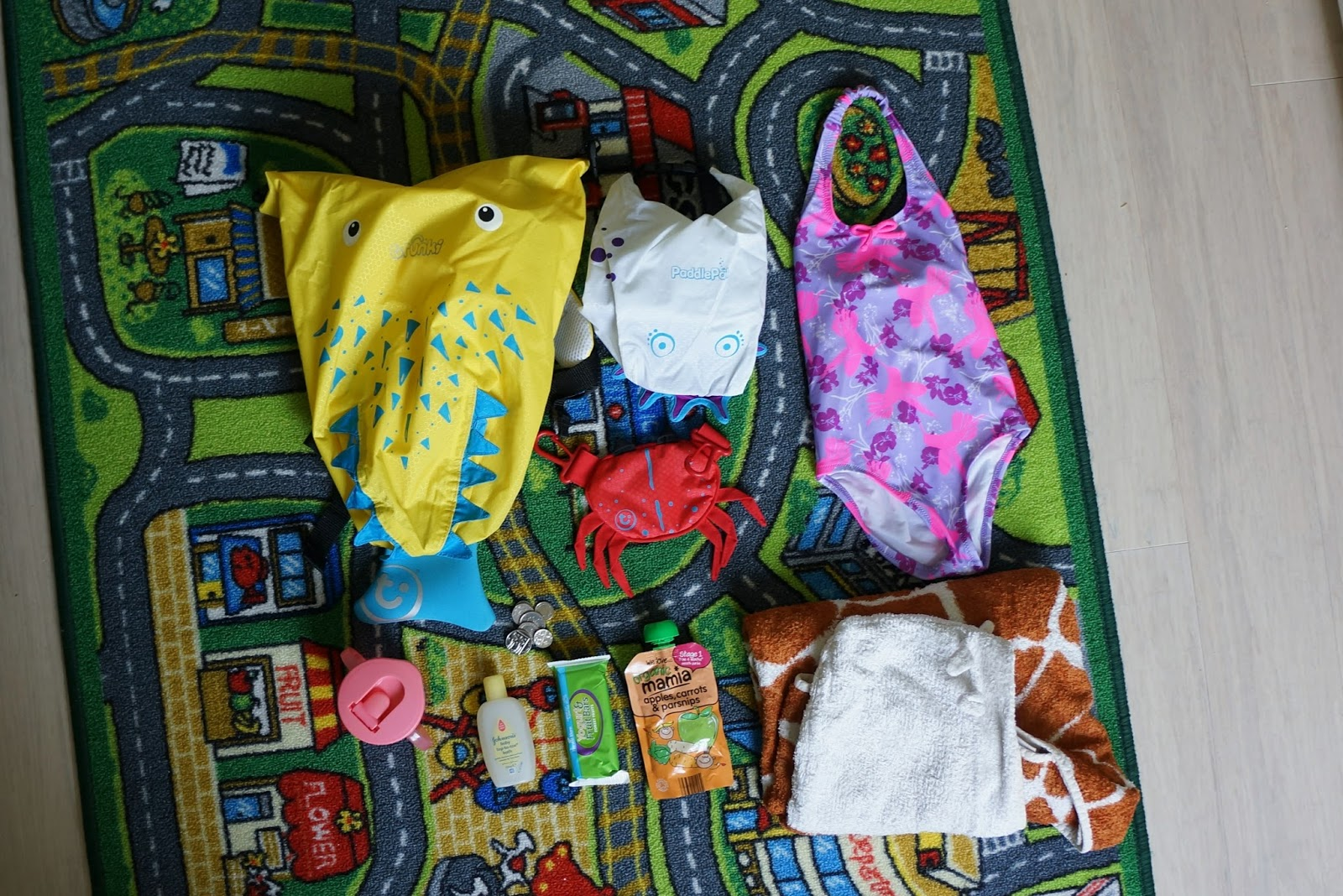 What To Pack For Toddler Swimming