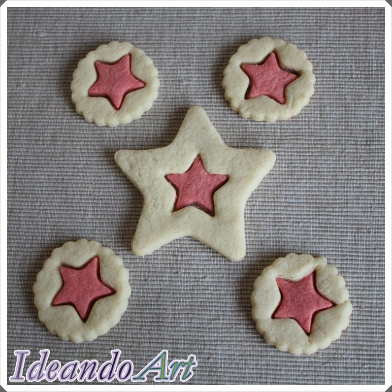 Galletas estrellas