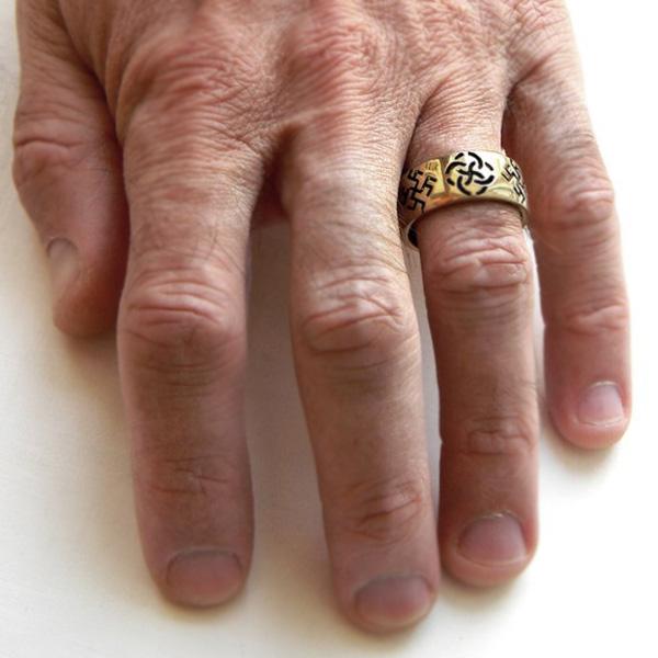 купить обручальные кольца языческие символы славянская свадьба