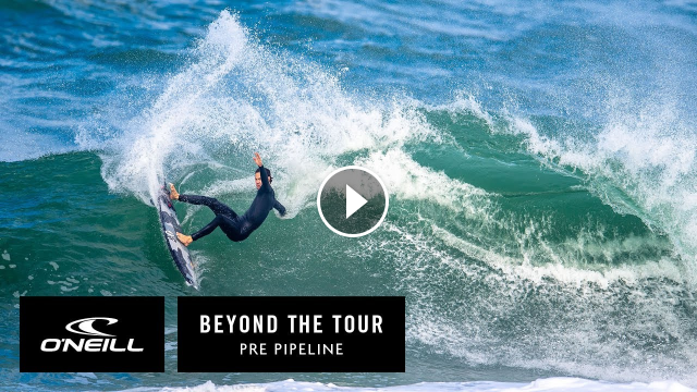Jordy Smith Beyond The Tour Pre Pipeline