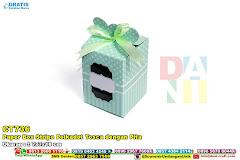 Paper Box Stripe Polkadot Tosca Dengan Pita