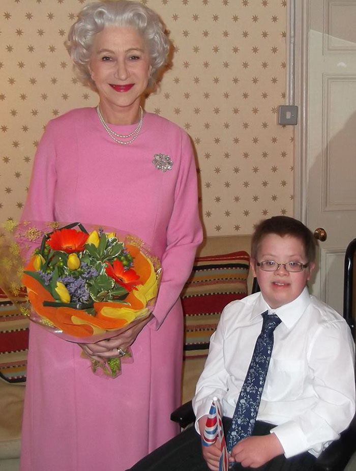 36 People's Heart-Breaking Last Wishes - Dame Helen Mirren 'Knights' Dying Boy, 10, After Making His Wish For The Queen To Come To Have Tea With Him Come True