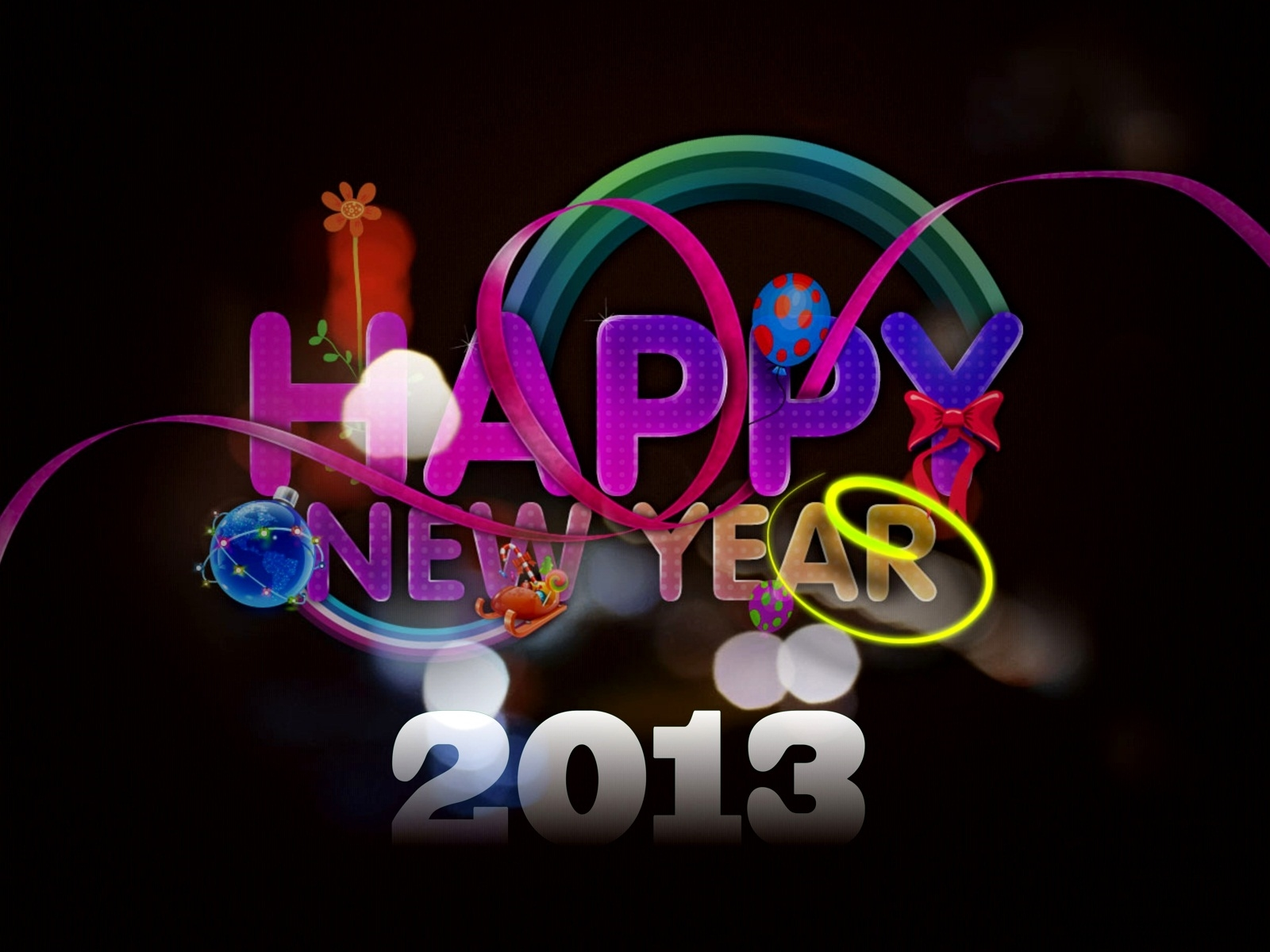 New Year 2013 is coming and every one is ready to celebrate Happy . 1600 x 1200.Happy Christmas And New Year In Polish