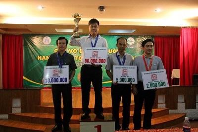 Giải vô địch cờ tướng Việt Nam từ trước 1945 đến nay