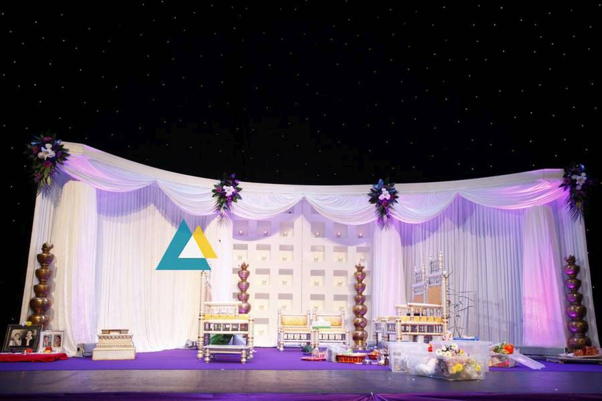 Budget Wedding and Reception Decoration models ideas - Sigaram ...