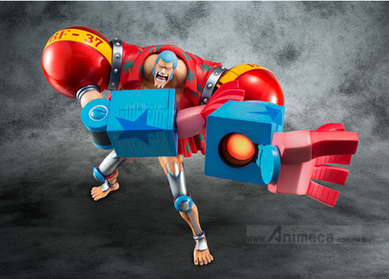 FIGURA SA-MAXIMUM Armored FRANKY LIMITED EDITION Ver. EXCELLENT MODEL P.O.P ONE PIECE