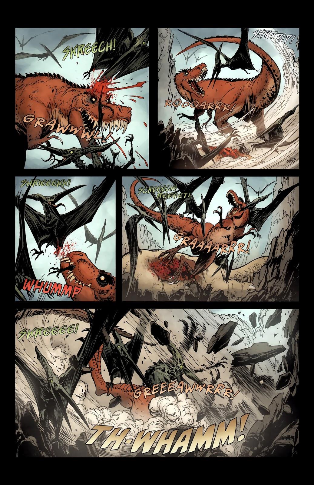 Read online Tyrannosaurus Rex comic -  Issue # Full - 11