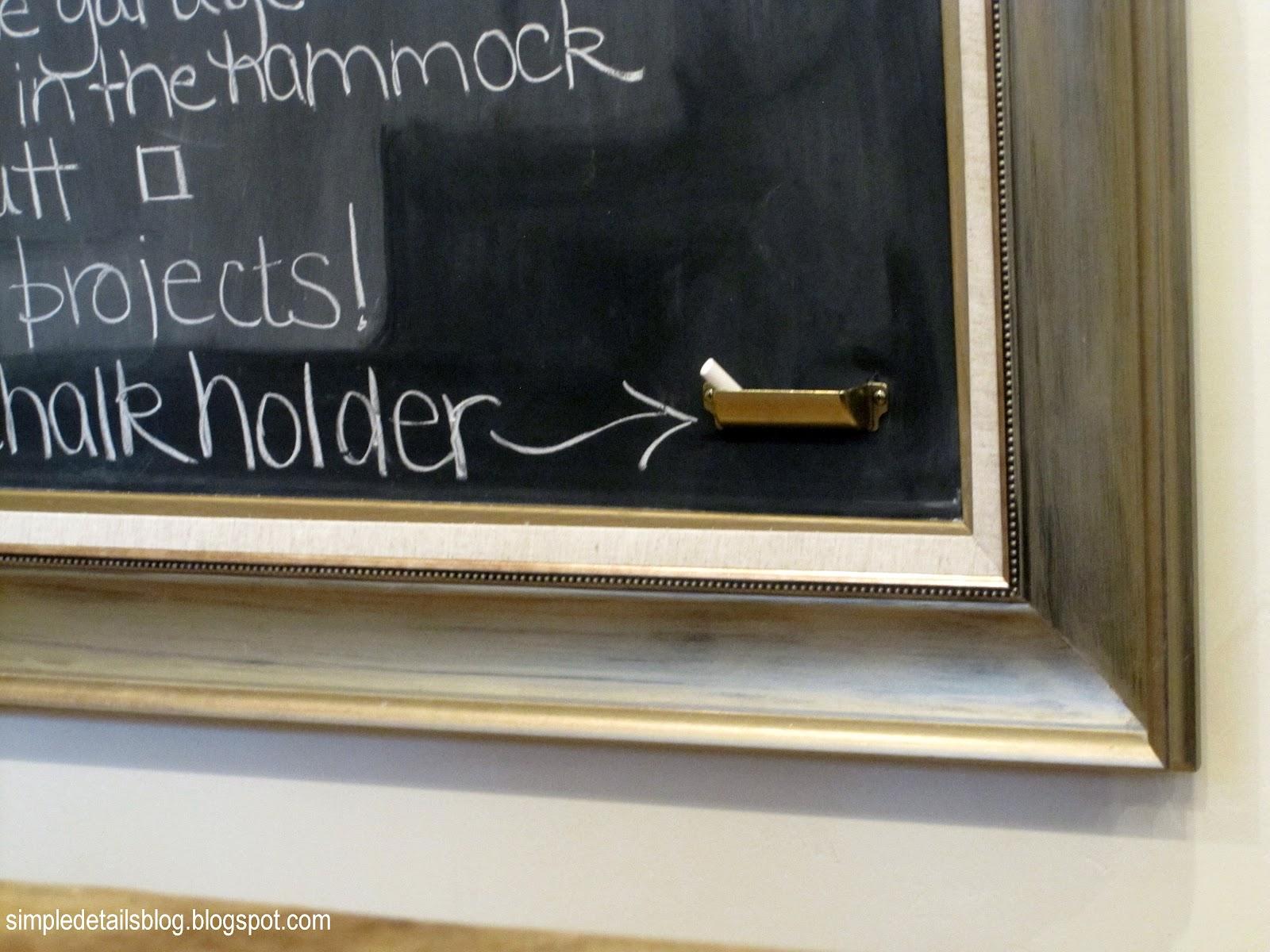 Chalkboard Chalk Holder | www.imgkid.com - The Image Kid ...