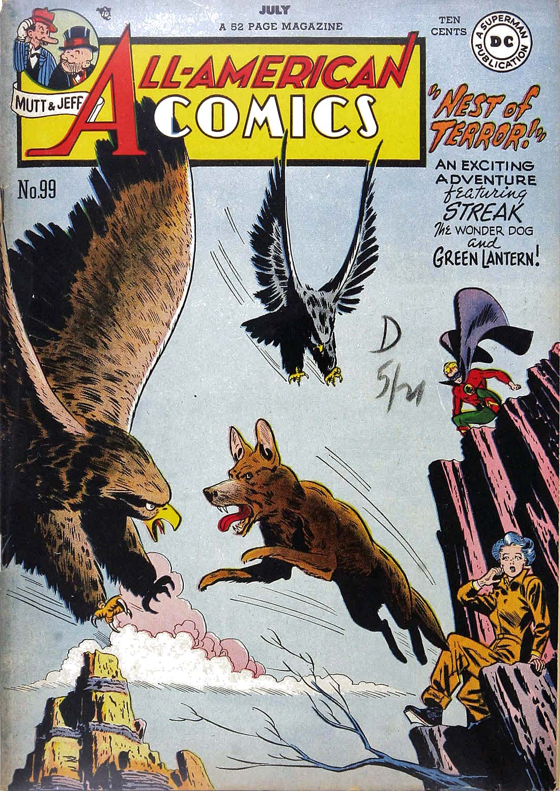 Read online All-American Comics (1939) comic -  Issue #99 - 1