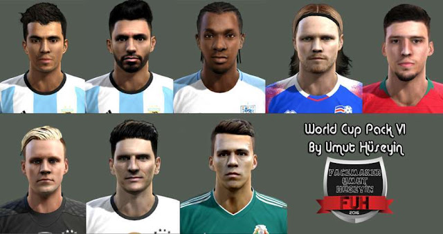 World Cup Russia 2018 Facepack PES 2013