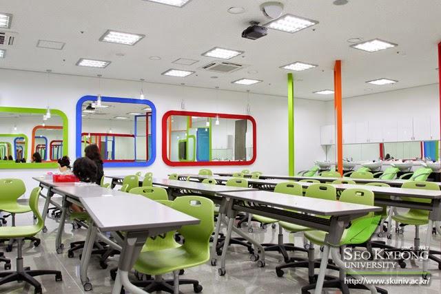 Môi trường học tập đại học SeoKyoeng Hàn Quốc