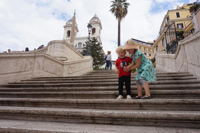Lasten kanssa Roomassa