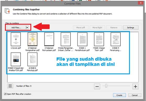 Cara Menggabungkan Beberapa File Pdf Menjadi Satu Menggunakan Nitro Pdf Sinauyuk