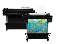 HP DesignJet T520 Printer series Software and Drivers