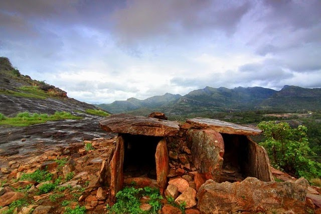 Ancient Dolmens at Marayoor Sandalwood Forests in Munnar