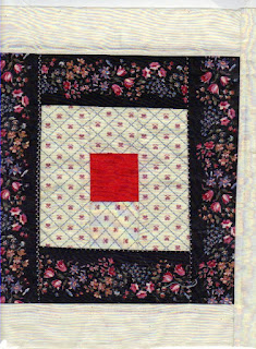 border prints make interesting quilt blocks