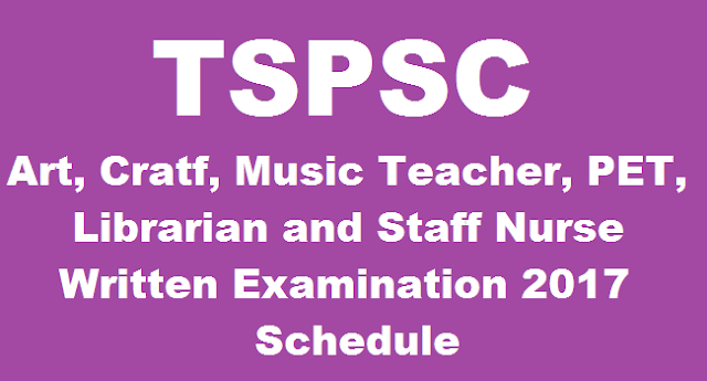 TS State, TS Recruitment, TSPSC, TS Gurukulam, Residential Educational Institutions Societies, Art and Crats, PET, Librarians, Staff Nurse, Music Teacher Post, Exam date