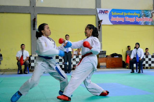 Sport Photography, Kumite Putri, Pekan Olah Raga Aceh
