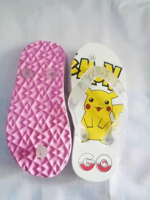 Sandal Karakter Pokemon Anak pink