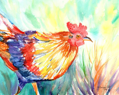 https://www.etsy.com/listing/465147317/kauai-roosters-original-watercolor