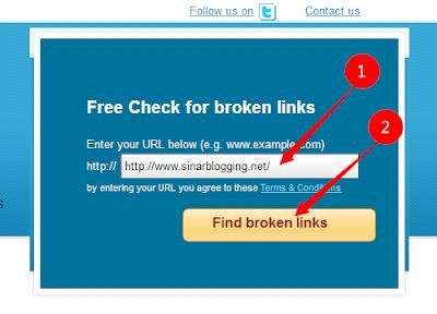 Inilah Cara Cek Broken Link Website Dengan Gampang Dan Akurat