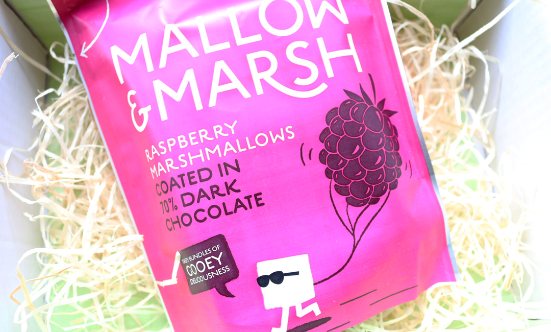Mallow & Marsh Raspberry and Dark Chocolate Marshmallows