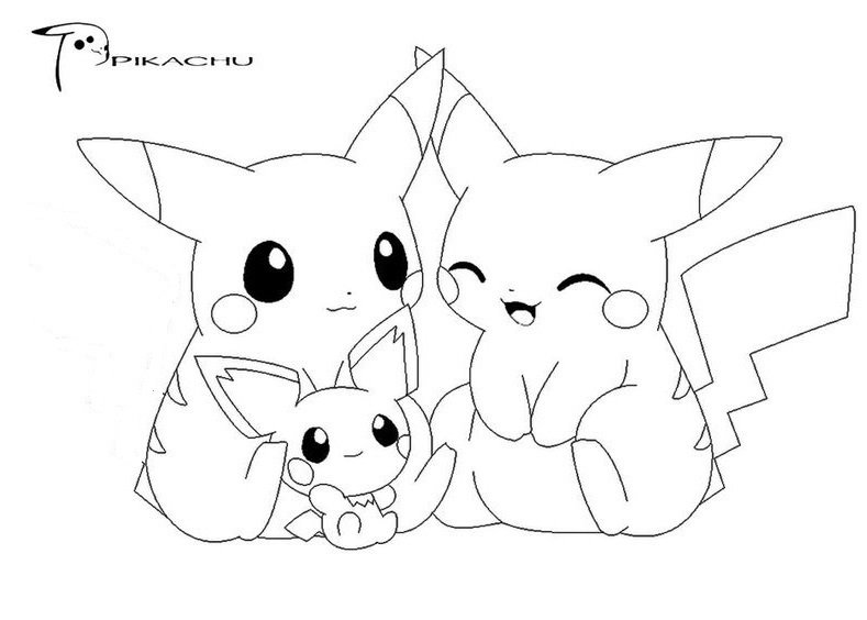 Tranh tô màu Pokemon 69