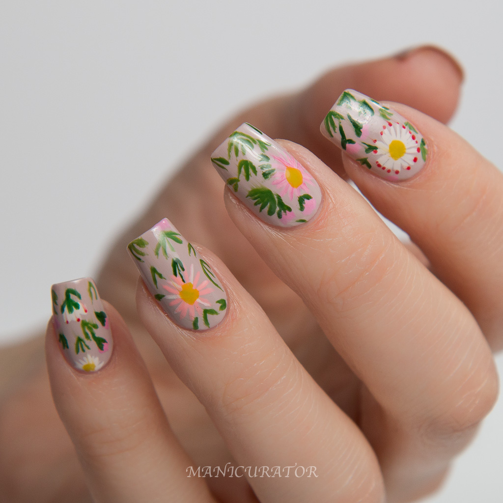 Manus x Machina Dior Couture Floral Nail Art Tutorial by Manicurator ...
