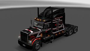 Bdoel N Sons Expedition skin for Peterbilt 389