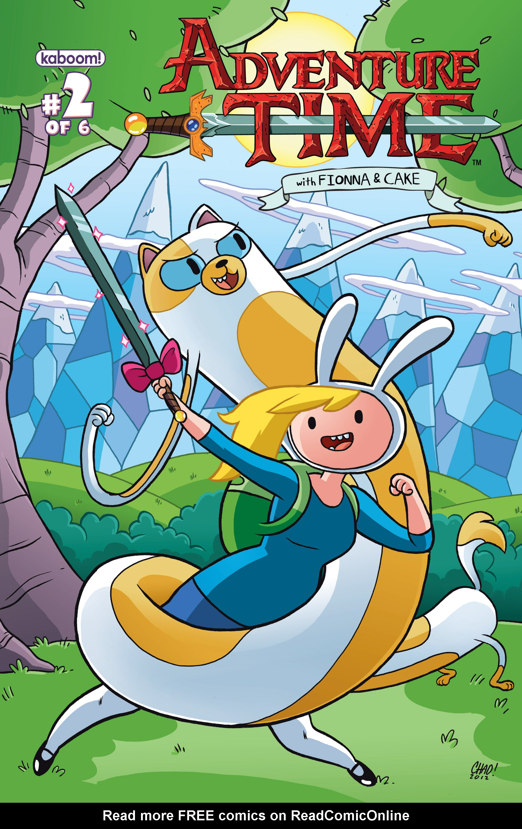 Adventure Time with Fionna & Cake 2 Page 1