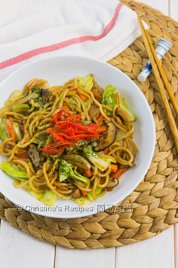 日式炒麵 Yakisoba Japanese Stir Fried Noodles01