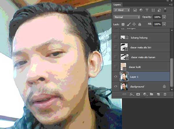 Cara Membuat Foto Menjadi Vector Kartun Di Photoshop Cara Membuat Foto Menjadi Vector Kartun Di Photoshop