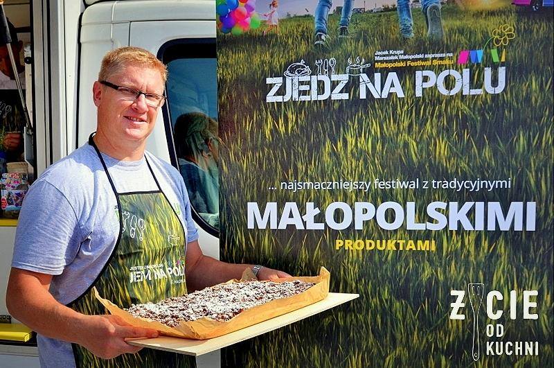 zjedz na polu, malopolski festiwal smaku, zycie od kuchni, blog, szarlotka, piotr wlezien, bloger,