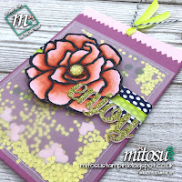 Stampin' Up! Beautiful Day & Mini Treat Bag Order from Mitosu Crafts UK Online Shop