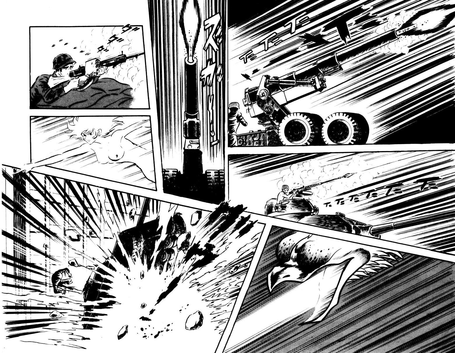 DevilMan chapter 17 trang 13
