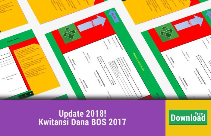 Referensi Contoh Kwitansi Bos 2017 Untuk Lampiran Laporan