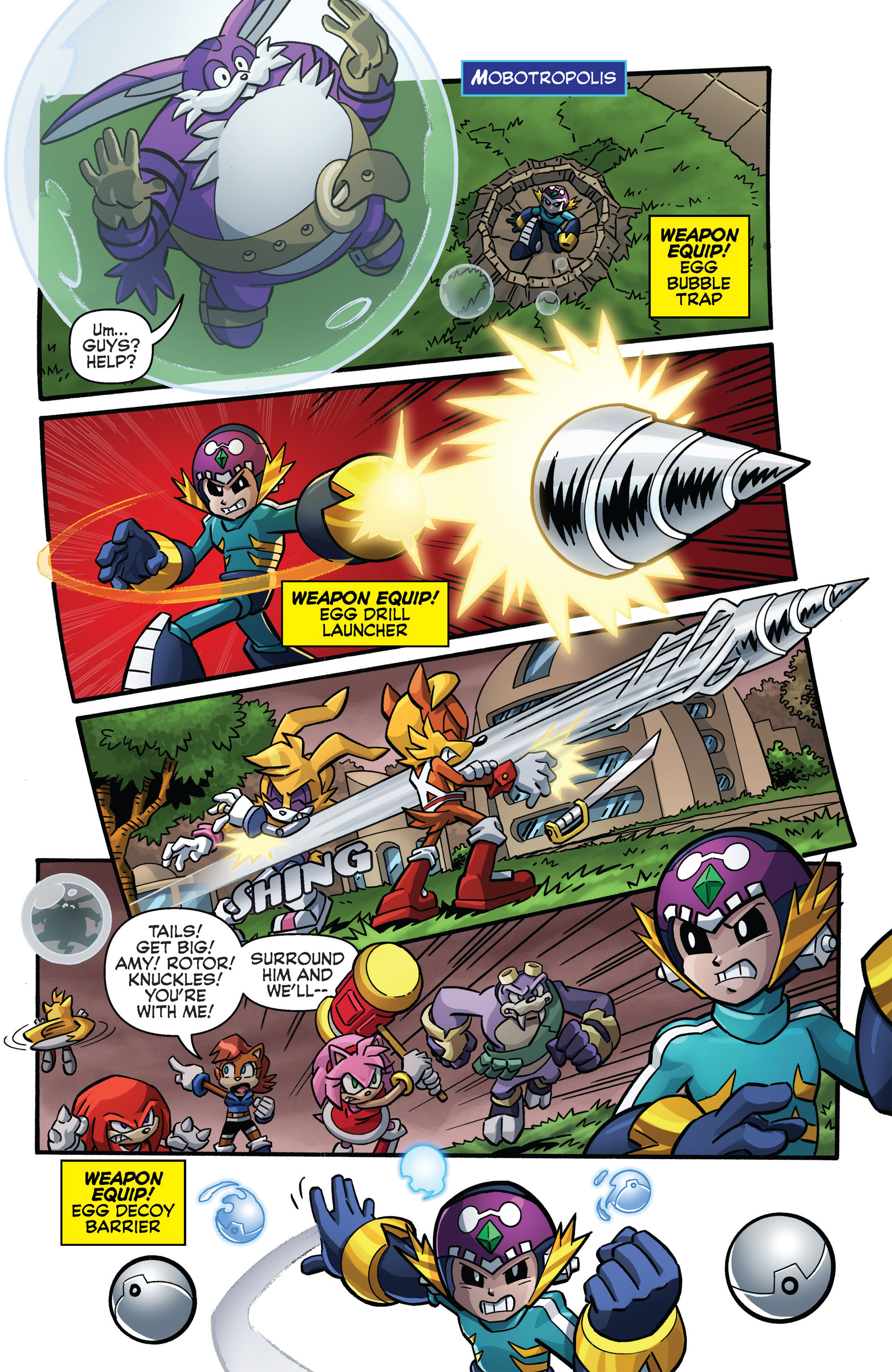 Read online Sonic The Hedgehog comic -  Issue #273 - 14