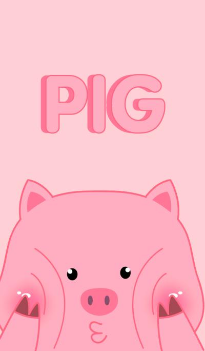 Simple Emotions Pig Theme