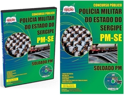 apostila PM Sergipe para Soldado PM 2018