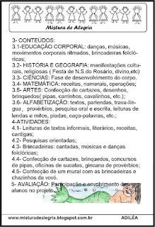 Projeto folclore brasileiro