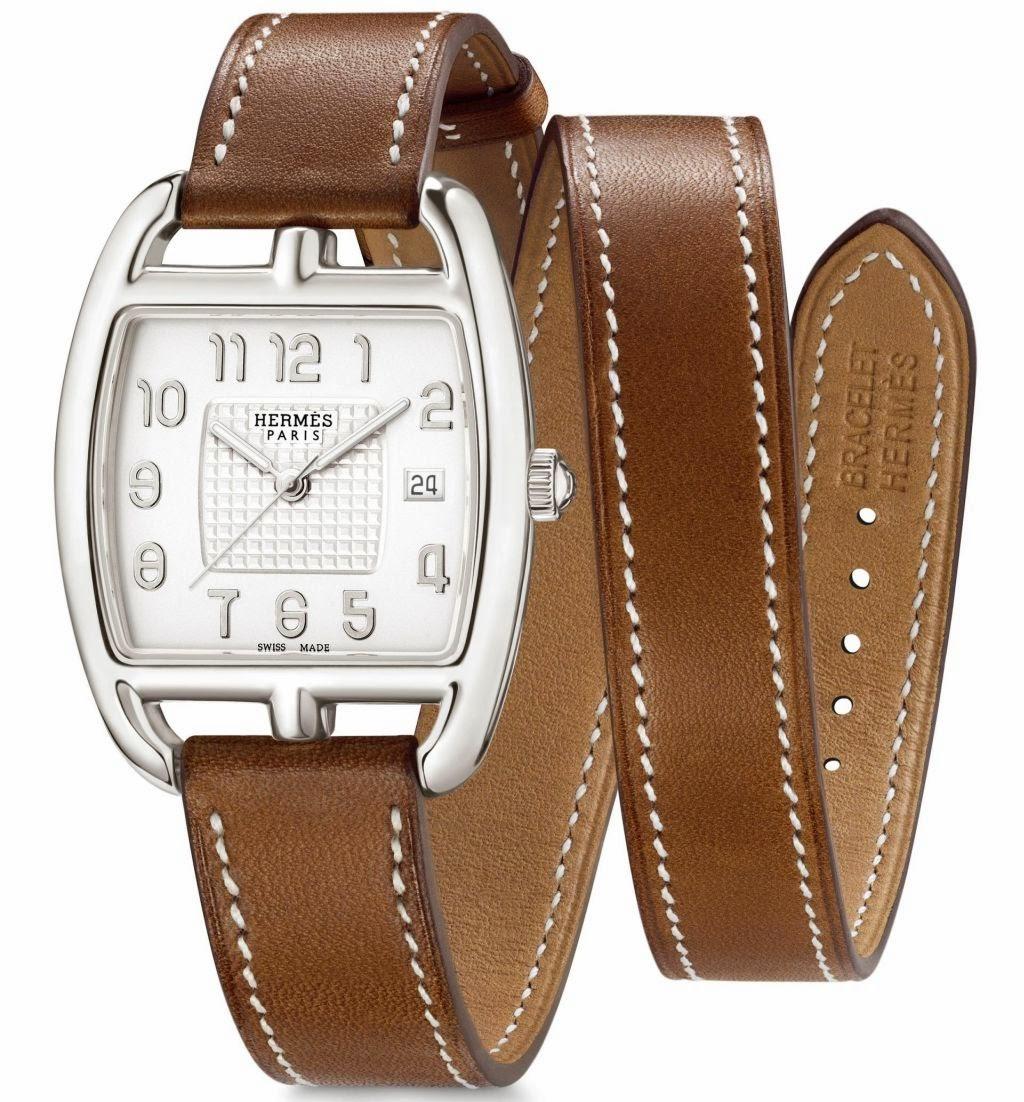 Hermès Cape Cod Tonneau GM Silver ᶧ watch